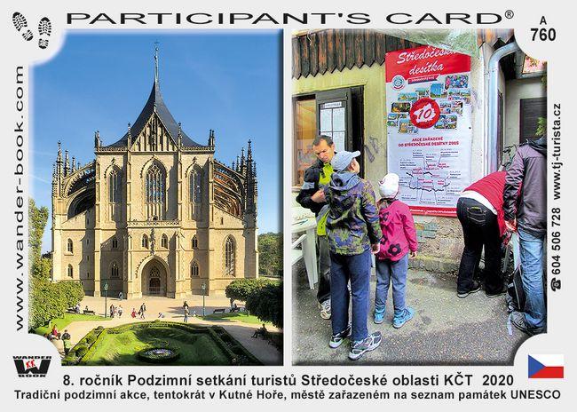 8. ročník Podzimní setkání turistů Středočeské oblasti KČT  2020