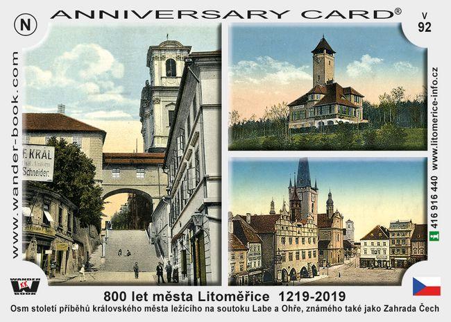 800 let města Litoměřice  1219-2019