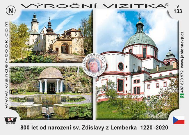 800 let od narození sv. Zdislavy z Lemberka  1220–2020