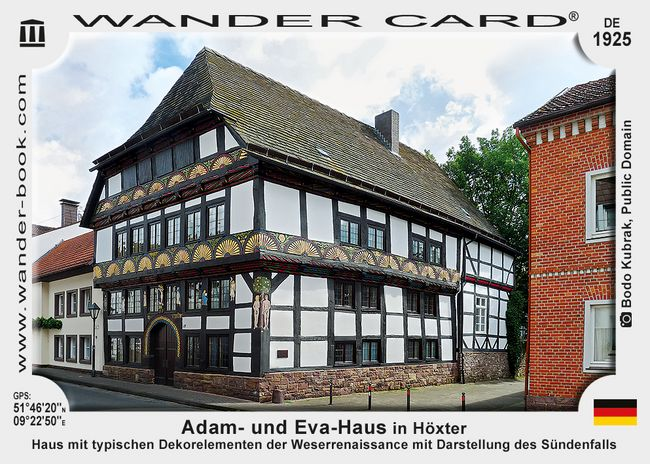 Adam- und Eva-Haus in Höxter