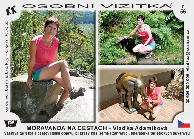 Adamíková Vlaďka - Moravanda na cestách