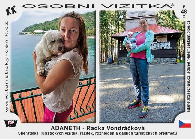 ADANETH - Radka Vondráčková
