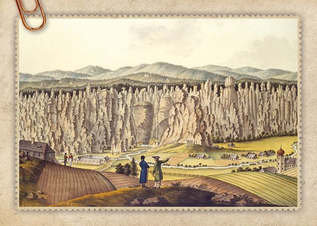 Adršpašské skalní město