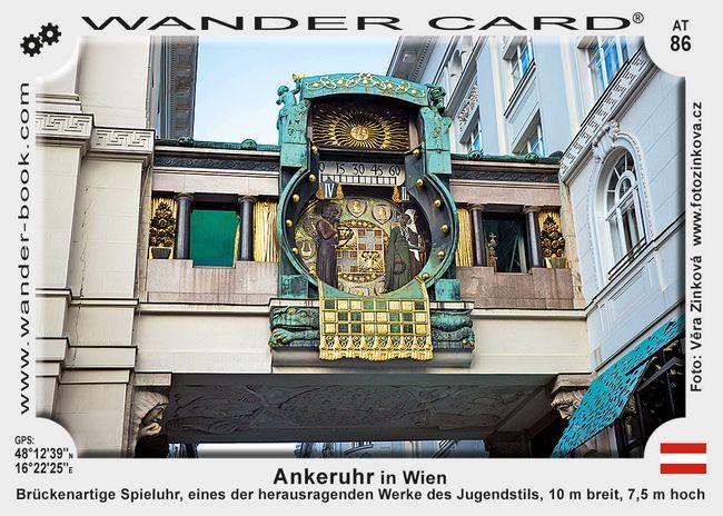 Ankeruhr in Wien