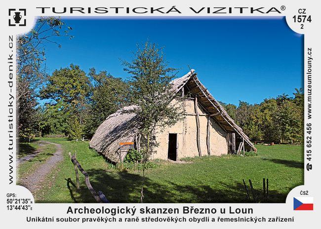 Archeoskanzen Březno
