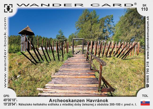 Archeoskanzen Liptovská Mara - Havránok