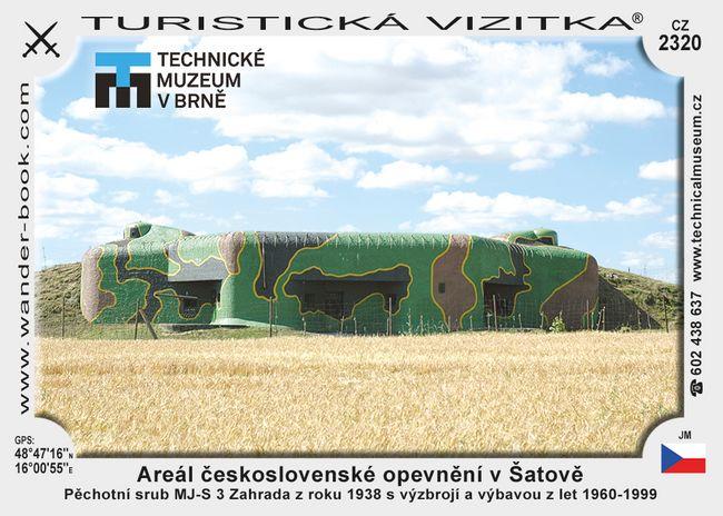 Areál českoslov. opevnění v Šatově