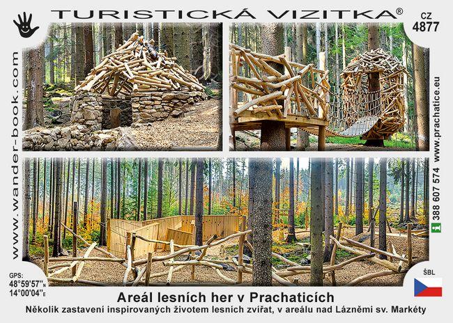 Areál lesních her v Prachaticích