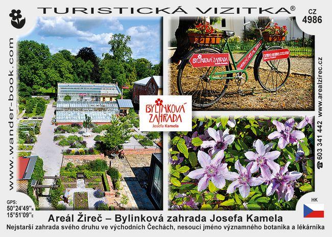 Areál Žireč – Bylinková zahrada Josefa Kamela