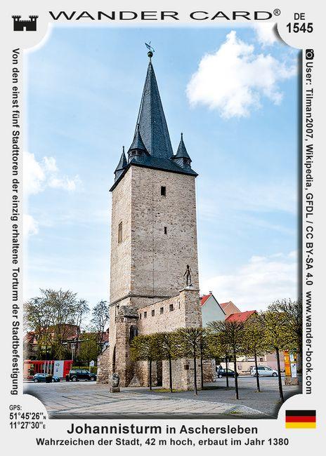 Aschersleben Johannistorturm