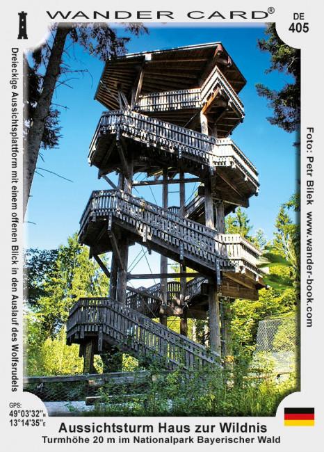 Aussichtsturm Haus zur Wildnis