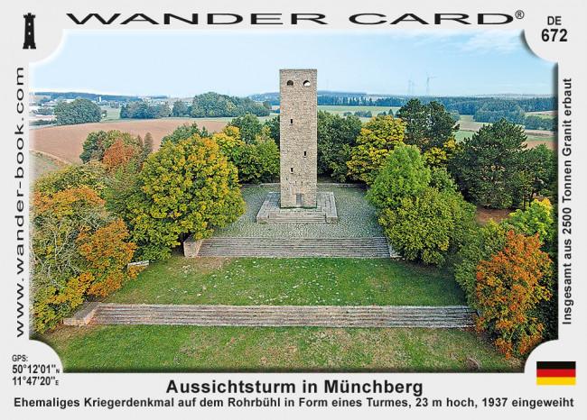 Aussichtsturm in Münchberg