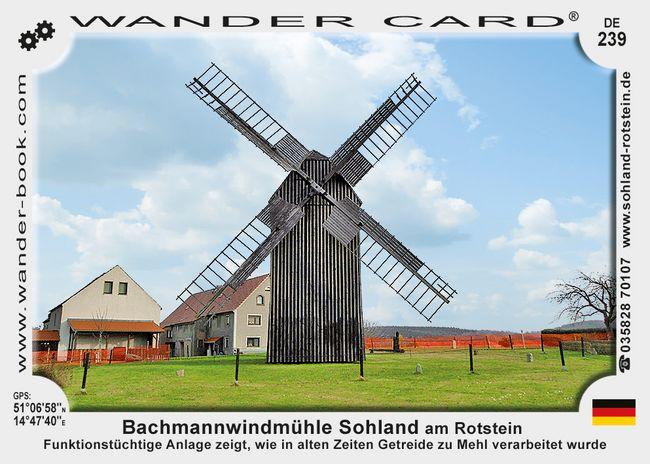 Bachmann Mühle Sohland am Rotstein