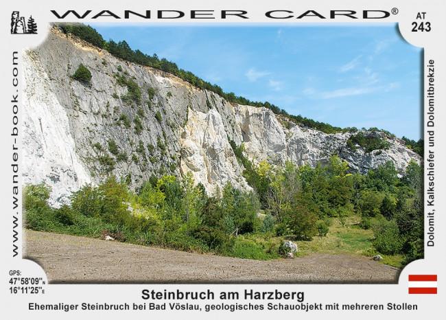 Bad Voslau Steinbruch