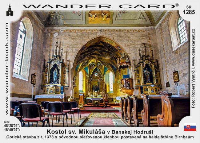 Kostol sv. Mikuláša v Banskej Hodruši