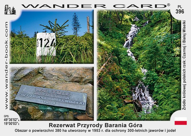 Barania Góra rezerwat przyrody