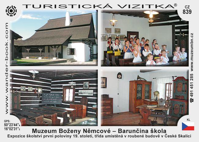 Barunčina škola v České Skalici