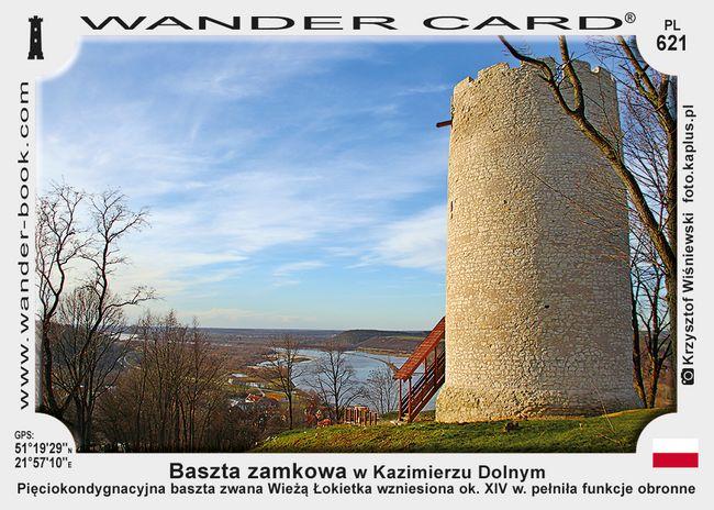 Baszta zamkowa w Kazimierzu Dolnym