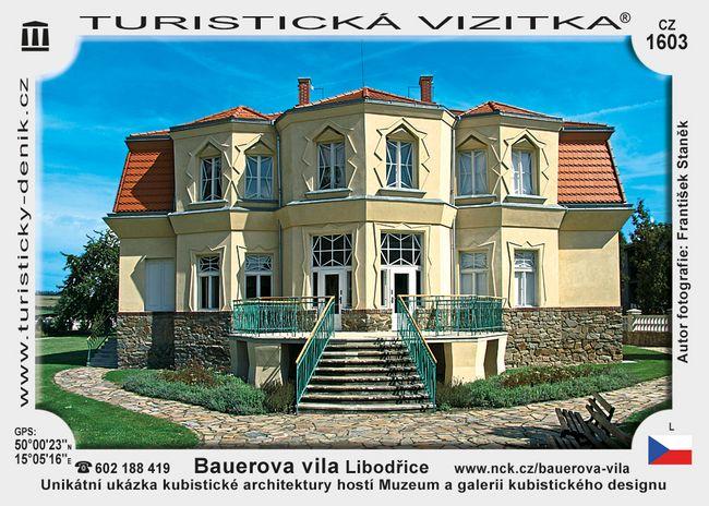 Bauerova vila Libodřice