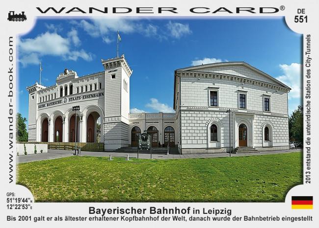 Bayerischer Bahnhof in Leipzig