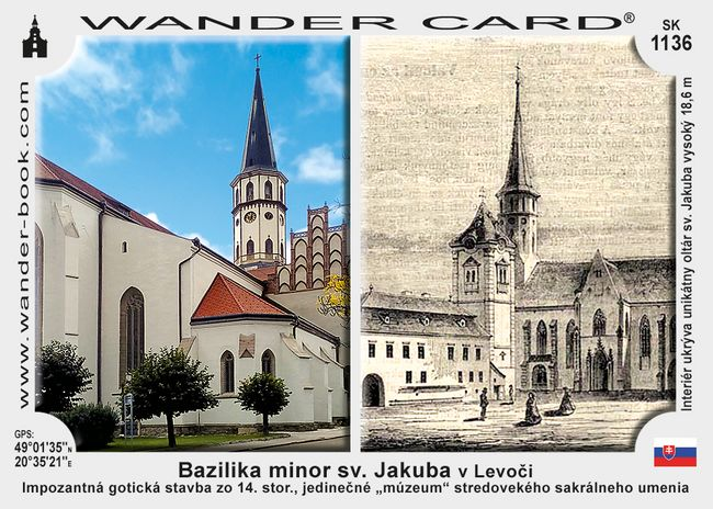 Bazilika minor sv. Jakuba v Levoči