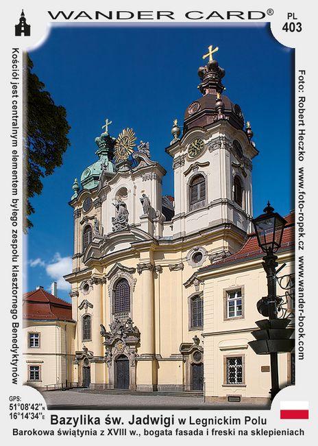 Bazylika św. Jadwigi w Legnickim Polu