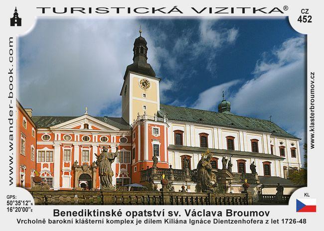 Benedikt. opatství sv. Václ. v Broumově