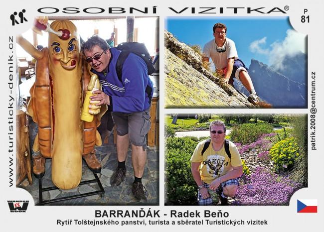 Radek Beňo – Barranďák