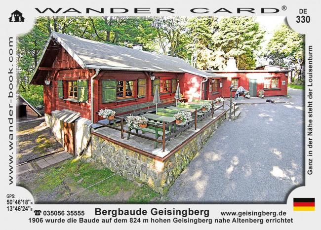 Bergbaude Geisingberg