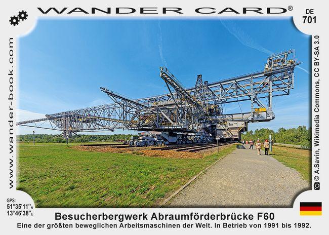 Besucherbergwerk Abraumförderbrücke F60