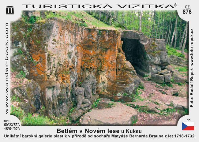 Betlém v Novém lese u Kuksu