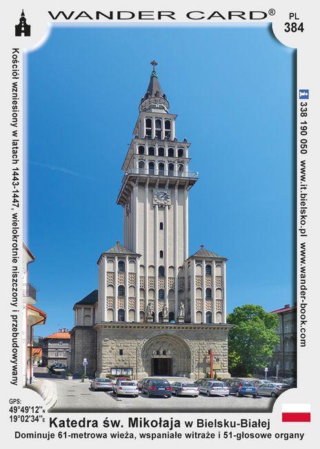 Bielsko-Biała katedra św Mikołaja
