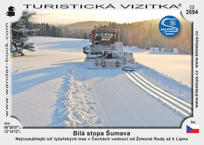 Bílá stopa Šumava