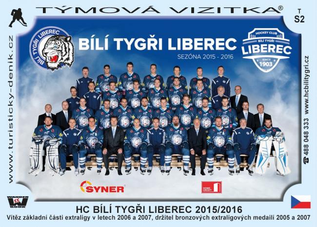 Bílí tygři Liberec 2015/2016