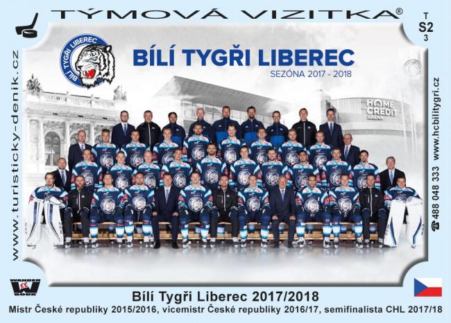 Bílí Tygři Liberec 2017/2018