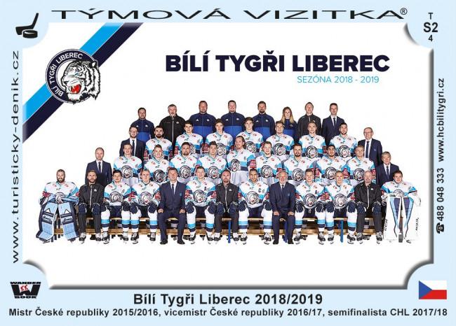 Bílí Tygři Liberec 2018/2019