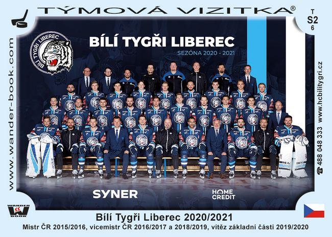 Bílí Tygři Liberec 2020/2021