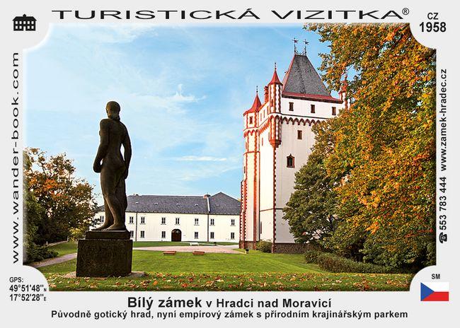 Bílý zámek Hradec nad Moravicí