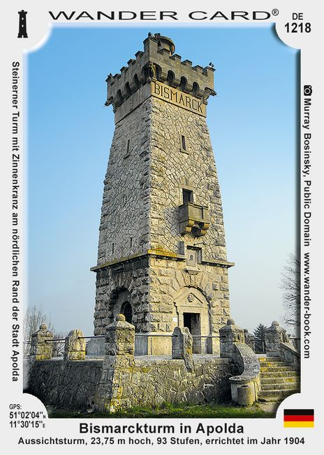 Bismarckturm in Apolda