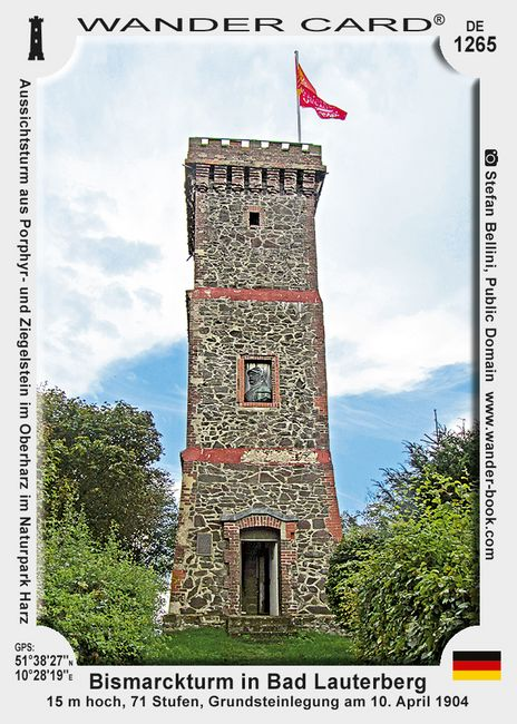 Bismarckturm in Bad Lauterberg