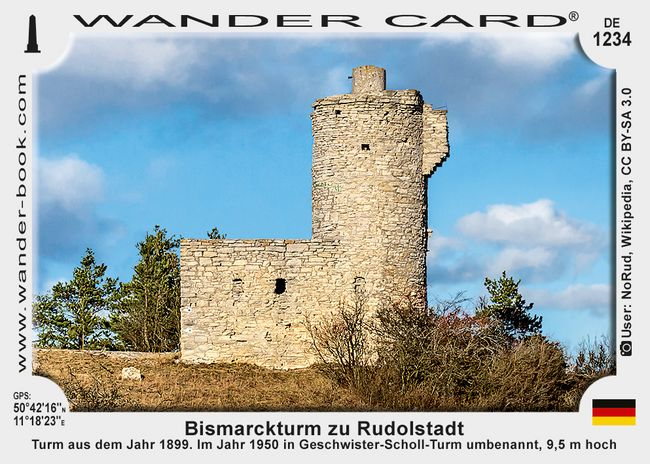 Bismarckturm zu Rudolstadt