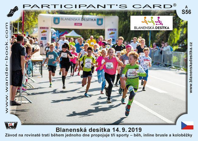 Blanenská desítka 14. 9. 2019