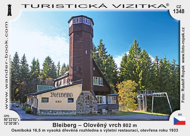Bleiberg - Olověný vrch