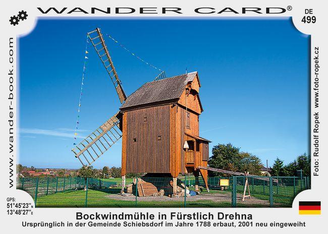 Bockwindmühle in Fürstlich Drehna