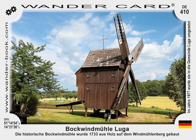 Bockwindmühle Luga