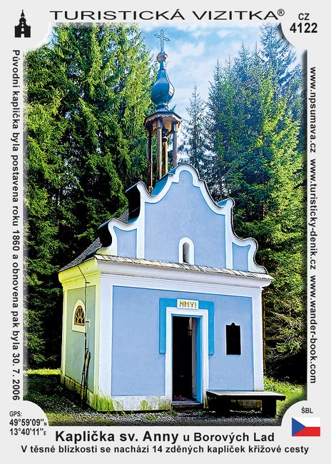 Kaplička sv. Anny u Borových Lad