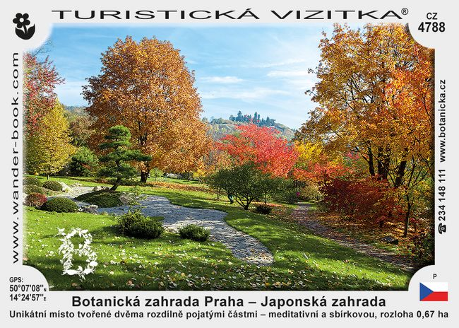 Botanická zahrada Praha – Japonská zahrada