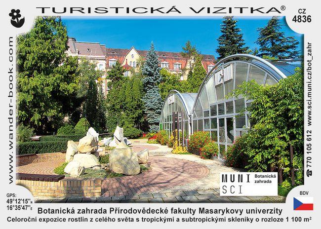 Botanická zahrada Přírodovědecké fakulty Masarykovy univerzity