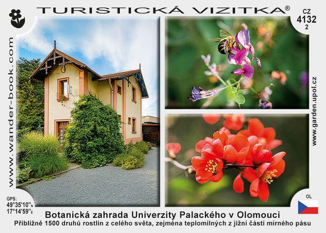 Botanická zahrada Univerzity Palackého v Olomouci