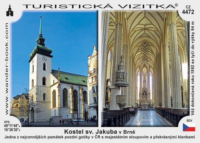Brno kostel sv. Jakuba